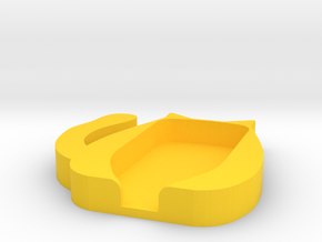 Trezor Cover - Madame Monrepas in Yellow Processed Versatile Plastic