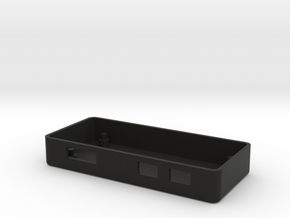 raspberry pizero case.CORRECT SIZE  in Black Natural Versatile Plastic