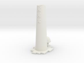 Amsterdammertje - urn in White Natural Versatile Plastic