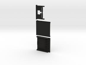 41 module 3pc in Black Natural Versatile Plastic