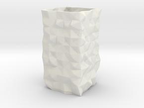 randomvase_v2_-_3_mm_walls in White Natural Versatile Plastic