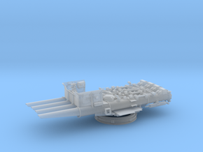 1/50 DKM Quadruple 533 mm Torpedo Tubes in Smooth Fine Detail Plastic