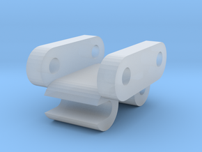 1/50 Scale 30 Ton Quick Coupler  in Smooth Fine Detail Plastic