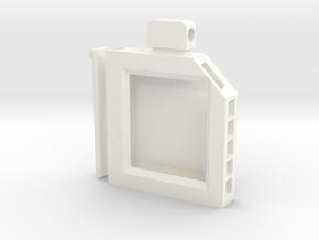 Cartridge Case in White Processed Versatile Plastic