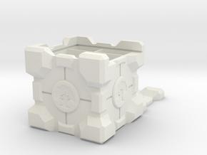 Green Mana 'Companion Crate' Deck & Dice Box in White Natural Versatile Plastic