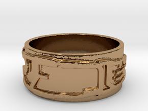 Pattern Design Series IX in Polished Brass