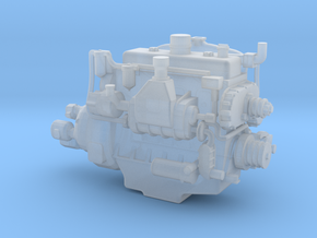 Heavy Machinery Engine, HO in Smooth Fine Detail Plastic