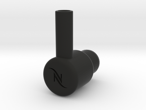 """Nespresso water tank To 3/8"""" quick connect in Black Strong & Flexible"""