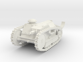 1/87 (HO) Ford 3-ton tank in White Natural Versatile Plastic