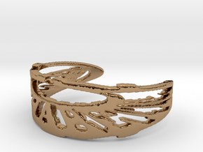 TRIXTER Signature Series IXI Ring Size 7 in Polished Brass