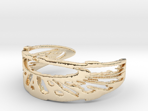 TRIXTER Signature Series IXI Ring Size 7 in 14k Gold Plated Brass