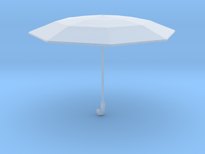 1/24 Daily Umbrella for G Scale Dioramas in Smooth Fine Detail Plastic