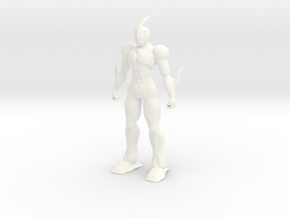 Guyver - Bio Booster Armor in White Processed Versatile Plastic: Extra Small