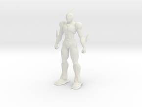 Guyver - Bio Booster Armor in White Premium Strong & Flexible: Extra Small