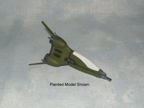 MAC01 Fighter Pod (1/200 scale) in White Natural Versatile Plastic