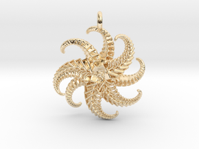 IF Starfish in 14k Gold Plated Brass