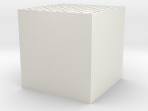 Maze 10 x 10 x 10 in White Strong & Flexible