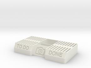 SD Card holder big in White Natural Versatile Plastic