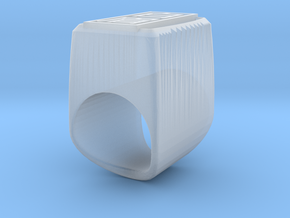 Pak Mei Ring in Smoothest Fine Detail Plastic: 3 / 44