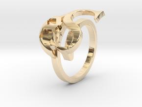 Saint Snow Twin Ring - Sarah Kazuno in 14K Yellow Gold: 4 / 46.5