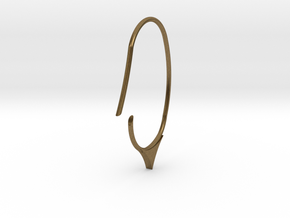 Hoop small size (SWH7a) in Natural Bronze