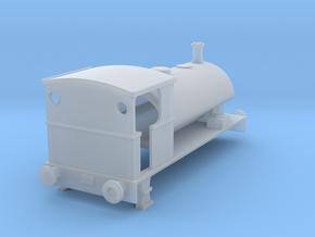 N Gauge Peckett W6 0-4-0ST in Smoothest Fine Detail Plastic