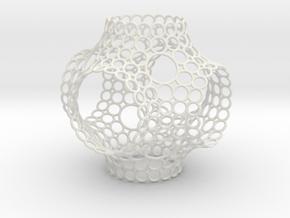SchwarzPRinge in White Natural Versatile Plastic