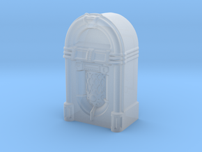 HO/OO Scale JukeBox in Smooth Fine Detail Plastic
