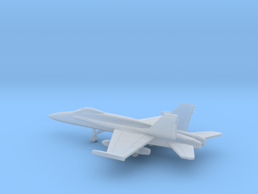 McDonnell Douglas F/A-18A Hornet in Smooth Fine Detail Plastic: 6mm