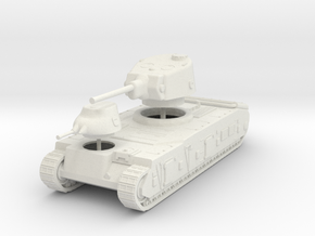 1/72 AMX Tracteur C in White Natural Versatile Plastic