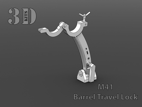 M41 Barrel Lock  in Frosted Extreme Detail
