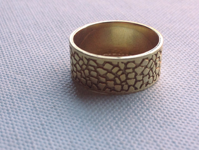Elizabeth Ring in Polished Brass