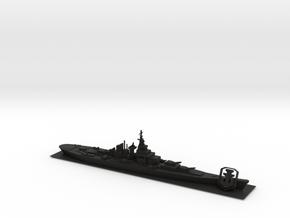 World of Warships Battleship w/ logo spacebar x6.5 in Black Natural Versatile Plastic