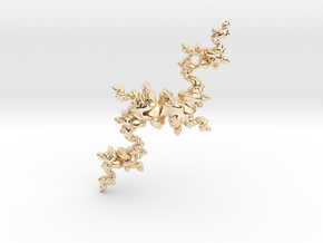 Fractal Unicorn in 14K Yellow Gold