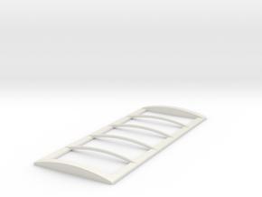 20' Roll Over Tarp Frame in White Premium Versatile Plastic