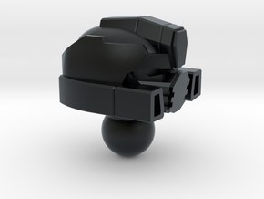 Fizzle Warrior head for Iron Factory Slammer in Black Hi-Def Acrylate