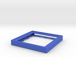 CD Frame Rain 2 in Blue Processed Versatile Plastic