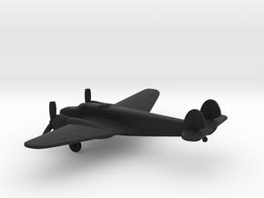 Caproni Ca.135 bis in Black Natural Versatile Plastic: 1:200