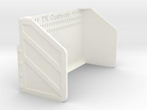1/64 Blade in White Processed Versatile Plastic: 1:64 - S