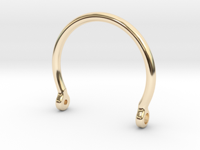 main cuff (SMALL) in 14K Yellow Gold