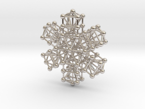 Snowflake of Life v 2.0 in Platinum