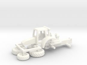 N Gauge K120 Tractor Kit in White Processed Versatile Plastic