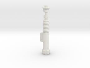 Luke Skywalker's Green Lightsaber 1:1 Replica in White Natural Versatile Plastic