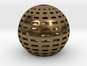 Gid_lampshade_sample in Natural Bronze