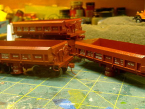 S Scale 1:64 CN / WPYR Air Dump in Smooth Fine Detail Plastic