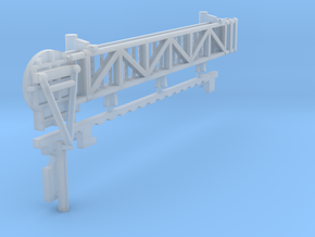 1:96 scale Walkway - Port - Long in Smooth Fine Detail Plastic