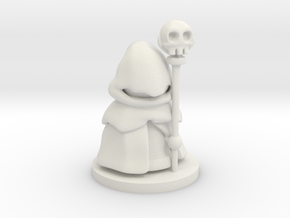 Necromancer in White Natural Versatile Plastic