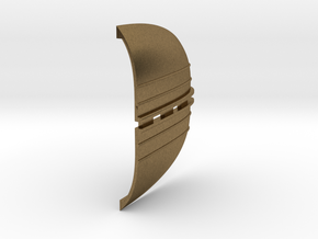 B15F Vent, Small, BRASS in Natural Bronze