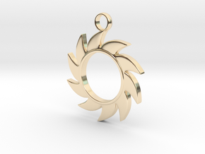 Sun V1 in 14k Gold Plated Brass