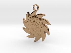 Sun V2 in Polished Brass